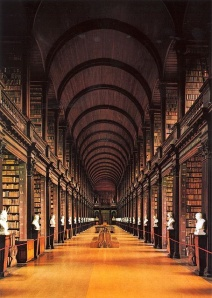 The Long Room, Trinity College Library, Dublin, Ireland